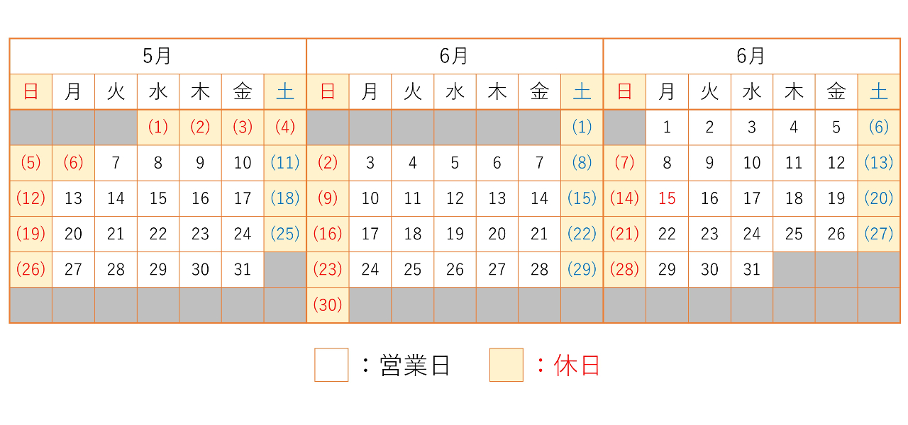 201905-201907カレンダー