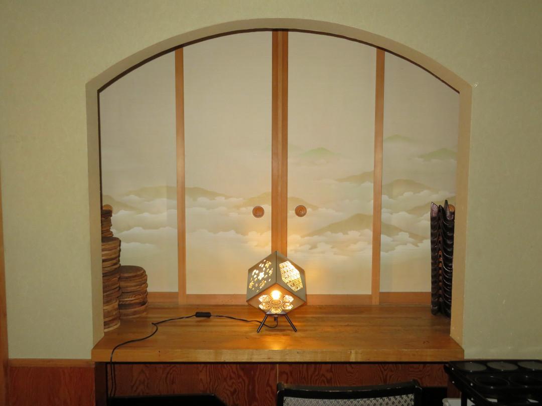 ランプシェード(飾り棚)